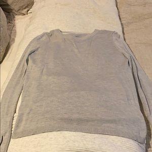 Lululemon back drape sweater